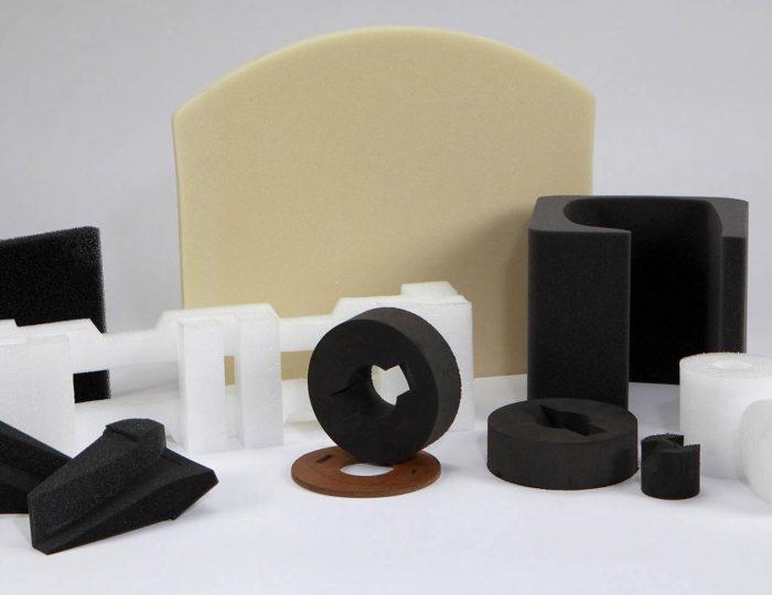 طراحی و تولید کلیه قطعات از ابر ، اسفنج ، پلی اتیلن ، EVA ، یونولیت ، سایر فوم ها و چرم